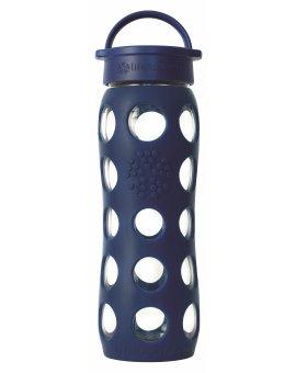 Lifefactory láhev s klasickým uzávěrem 650ml midnight blue