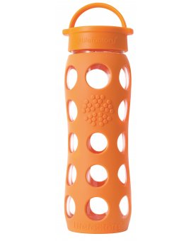 Lifefactory láhev s klasickým uzávěrem 650ml orange