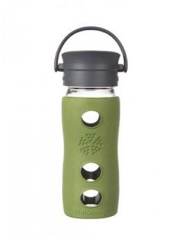 Lifefactory hrnek s cafe uzávěrem 350ml Sage