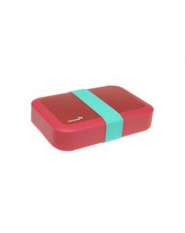 Svačinový box Amuse® velký růžový