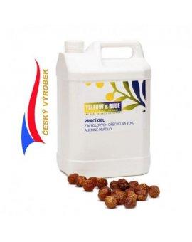 Prací gel na vlnu a jemné prádlo 5 l - mýdlové ořechy