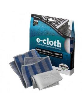 Sada hadříků na sporáky a trouby e-cloth 2 ks
