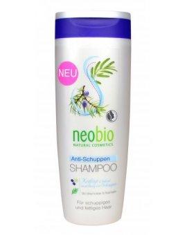 Neobio Šampon proti lupům Jalovcový olej & Rozmarýn 250ml