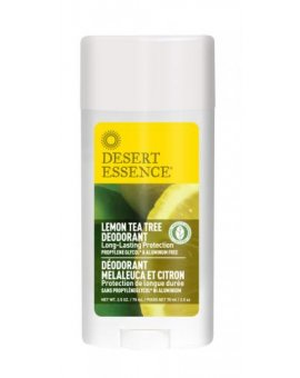 Deodorant Lemon Tea Tree 70 ml - Desert Essence