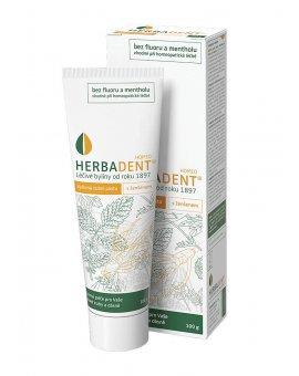 Herbadent Homeo - Bylinná zubní pasta s ženšenem 100 g