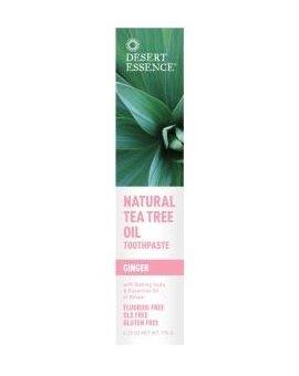 Pasta na zuby Ginger – tea tree olej a zázvor 130 ml