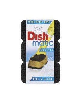 Dishmatic - náhradní houbičky Heavy Duty 3 ks