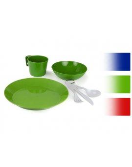 Cascadian Tableset pro 1 osobu zelený