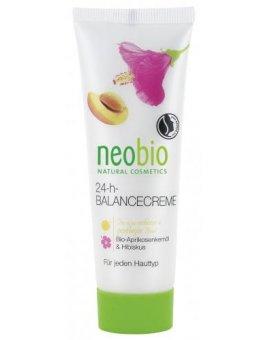 Neobio 24 h Balance krém Bio-Meruňkový olej & Ibišek 50 ml