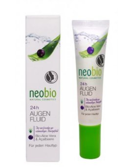 Neobio 24 h Oční fluid Bio Aloe Vera & Bio Acai 15 ml