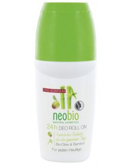 Neobio Deo Roll on Bio-Oliva & Bambus 50 ml