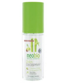Neobio Deo spray Bio-Oliva & Bambus 100 ml