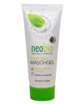 Neobio Fresh Skin Mycí gel Bio Máta & Mořská sůl 100 ml