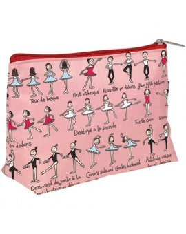Dívčí kosmetická taštička - Baletky