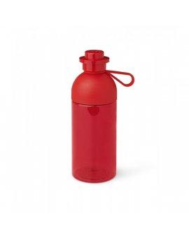LEGO láhev transparentní - červená