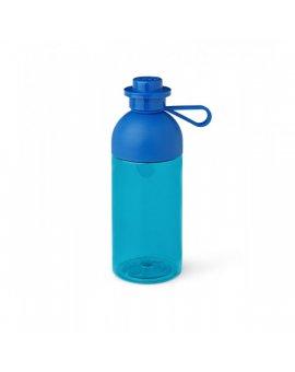 LEGO láhev transparentní - modrá