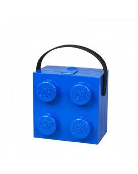 LEGO box s rukojetí - modrá