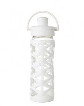 Lifefactory láhev ACTIV uzávěr 475 ml Optic white