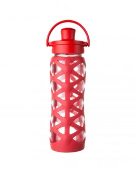 Lifefactory láhev ACTIV uzávěr 650 ml Charged Red