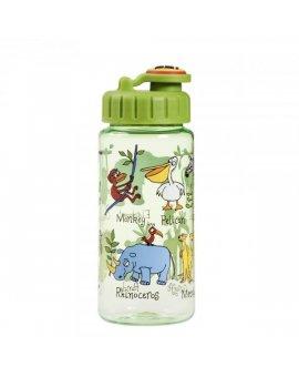 Dětská láhev s brčkem Džungle - tritan