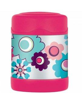 Dětská termoska na jídlo - květy 290 ml