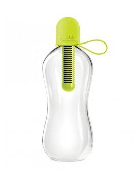 Láhev BOBBLE 0,55L Lime se silikonovým víčkem