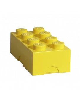 Lego box na svačinu - žlutá