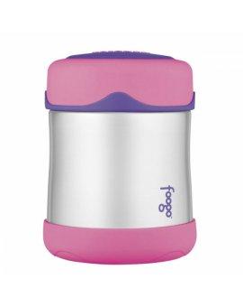 Kojenecká termoska Foogo na jídlo - růžová