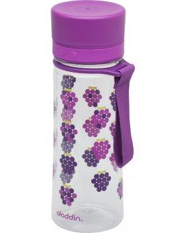 AVEO láhev na vodu 0.35L Fialová s potiskem