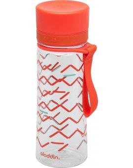 AVEO láhev na vodu 0.35L červená s potiskem