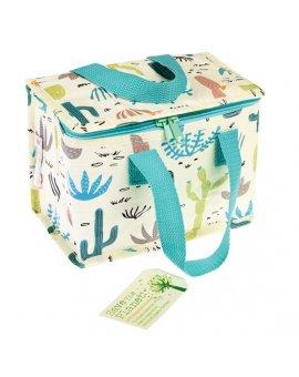 taška na jídlo Rex London - kaktusy