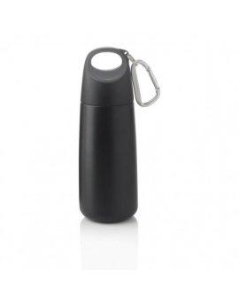 Bopp Mini lahev s karabinou, černá