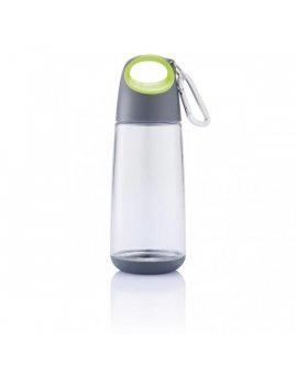 Bopp Mini lahev s karabinou, zelená průhledná