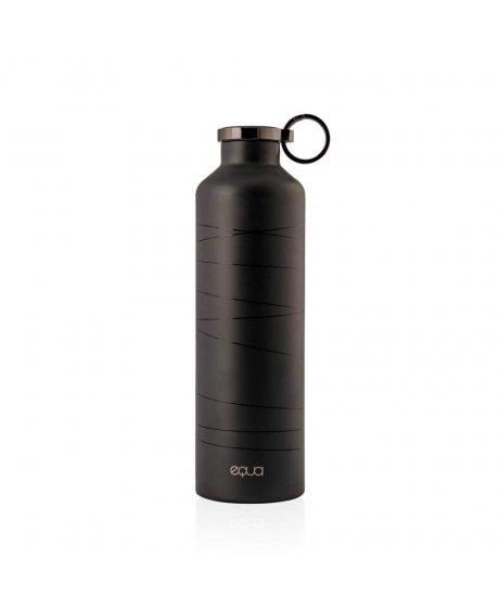 680ml 23oz basic black grey smart water bottle equa 498 1024x1024
