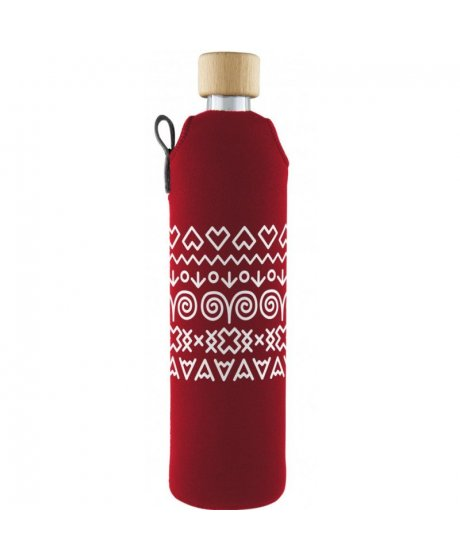 drink it lahev sklo cervena cicmany zelenadomacnost