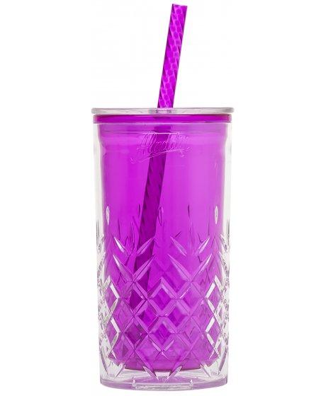 Plastový pohár fialový