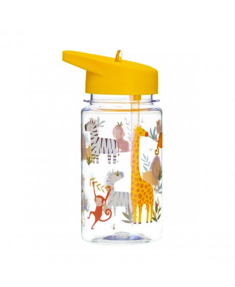 ZIP043 A Drink Up Savannah Safari Water Bottle.