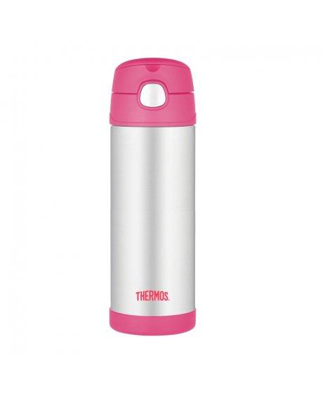 Dětská termoska - růžová 470 ml