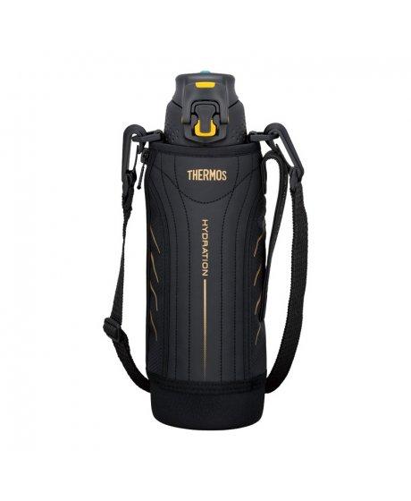 Hydratační termoska - černá 1 l