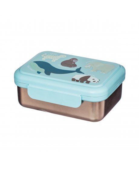 MAXI054 A Endangered Animals Metal Lunch Box (1)