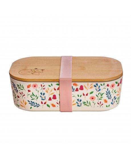 sass belle lunch box bamboo forest folk