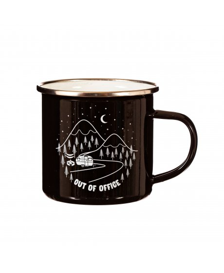 ZIP053 B Out Of Office Mug