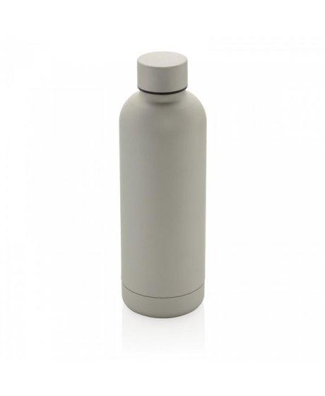 nerezova lahev na vodu s dvojitou stenou 500 ml xd design stribrna