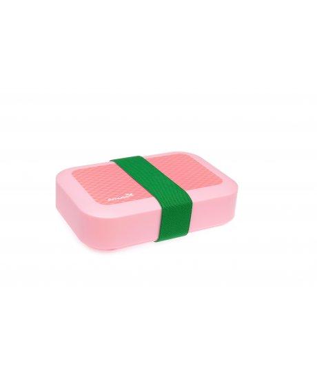 Svačinový box Amuse® střední růžový