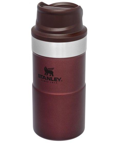 STANLEY Classic series termohrnek do jedné ruky 250 ml vínová