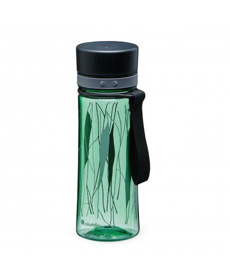 ALADDIN Aveo láhev na vodu 350 ml Basil Green Print