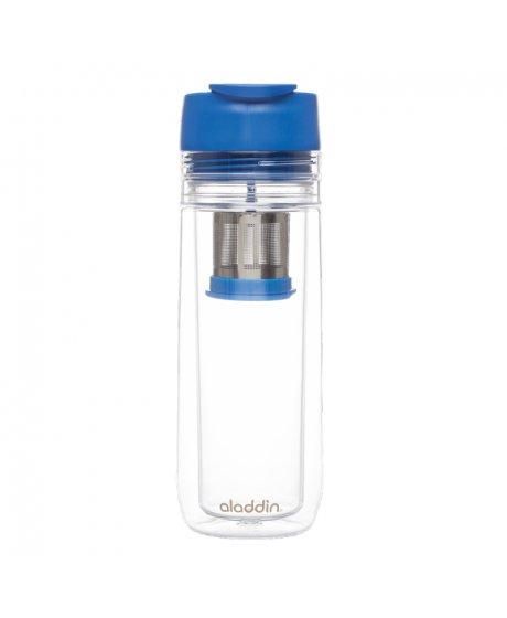 ALADDIN termohrnek s infuzérem 350 ml modrý