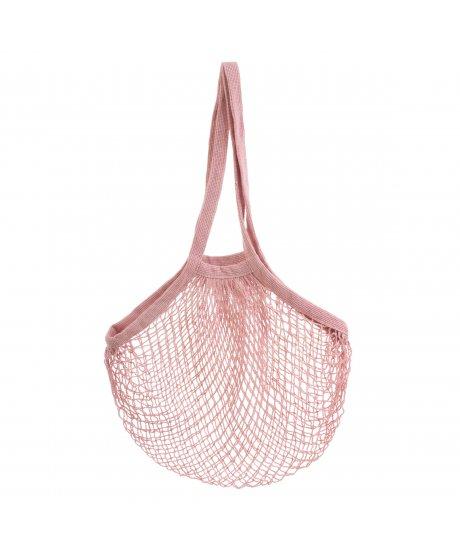 LUK001 A Pink String Shopper Ba