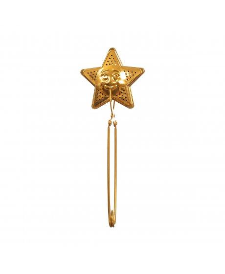 WIN001 A Brass Star Tea Infuser