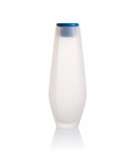 Hyta 1000ml, skleněná karafa, modrá